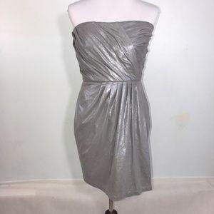Armani Exchange Formal Mini Dress Silver #87